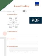 Formato Sesion Coaching
