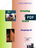 Discipleship 201 - Growing in Grace