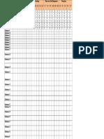 Model Data Sheet