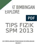SPM FIZIK 2013