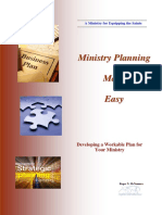 Ministry Planning Made Easy
