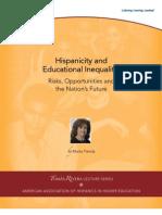 Hispanicity and Educational Inequality