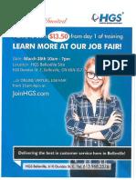 HGS Belleville - Job Fair