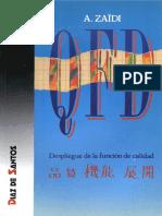 QFD despliegue de la función de calidad (1)