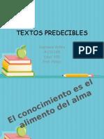 TEXTOS PREDECIBLES mara.pptx