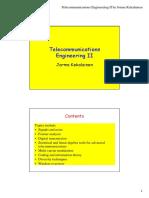 Telecommunications Engineering II by Jorma Kekalainen