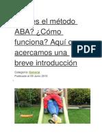 Metodo Aba - Copia