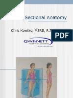 Cross Sectional Anatomy Student Seminar Handout