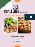 7 Day Diet Challenge Checklist Day 1