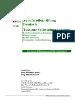 Vhs21 Einstufungstest BRP Deutsch