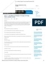 IAS 21 - The Effects of Changes in Foreign Exchange Rates (Detailed Review)