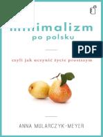 Minimalizm Po Polsku - Anna Mularczyk-Meyer