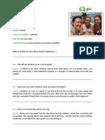 GVI Case Studies - Jessica Holan