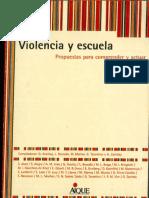 Violencia y Escuela