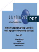 QSI DSE Hydrogen PPT March 07