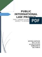 International Law Project-ARCHIPELAGO
