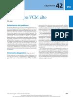 Anemias VCM Alto