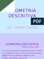 Aula de Geometria Descritiva - Ponto e Retas