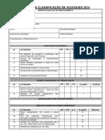 Roteiro Para Classificação de Açougues 2014