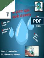 Afiche Del Agua