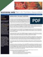 2006 V 1 Monterey Bay Plein Air Painters Association Newsletter