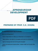 Entrepreneurship Development Notes - Sem-VI (Unit-I)