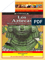 Libro No. 1158. Los Aztecas. Yáñez Solana%2C Manuel. Colección E.O. Octubre 11 de 2014.