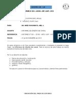 Informe de Diseño de Canal de Cajamarca