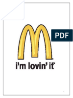 Report on McDonald's Pakistan