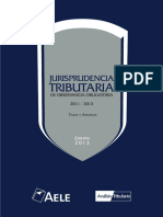 Jurisprudencia Tributaria TASAS Y ADUANAS 2011-2013
