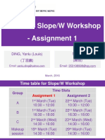 SlopeW Workshop