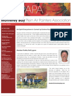 2006 V 2 Monterey Bay Plein Air Painters Association Newsletter