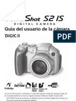 Manual Camara Canon s2i5