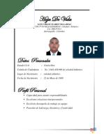 Hoja de Vida Luis Carlos Suarez Villa Real