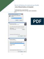 Guía Para La Instalación Del Sistema de Asistencia Por Huella SL