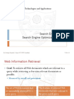 Search Engines and SEO (IT302)