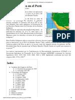 Lectura Ley de La Selva en El Perú - Wikipedia, La Enciclopedia Libre