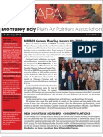 2008 V 1 Monterey Bay Plein Air Painters Association Newsletter