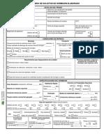 Formulario Para Solicitud de Hormigon Elaborado-editable