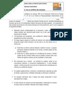 Declaración de No Conflicto de Intereses FORMATO 1