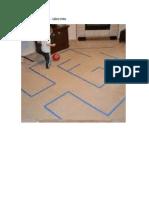 Futebol Com Fitas - Labirinto