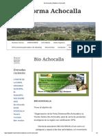 bioachocalla