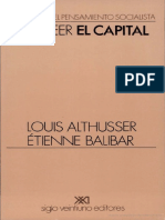 Louis Althusser - Para Leer El Capital