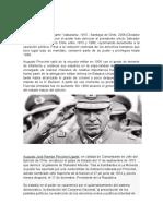 Biografia Augusto Pinochet