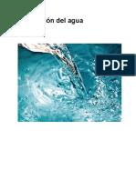 Purificación del agua