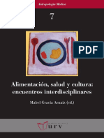 Alimentación Salud y Cultura. Encuentros Interdisciplinares