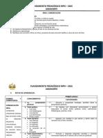Comunicación Primaria PP-MPN 2015