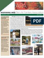 2008 V 5 Monterey Bay Plein Air Painters Association Newsletter
