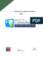 Guia Rapida de Inscripcion en El Registro de Consultores