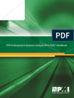 Professional Business Analysis Handbook